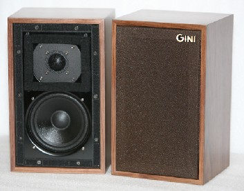 The GINI LS3/5A bass