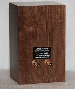The GINI LS3/5A bass back