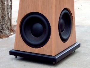 BESL Series 5 TMW Full Range Speakers bottom