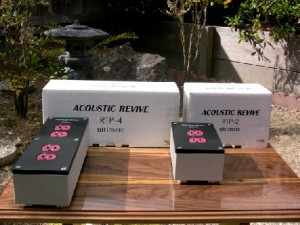 Acoustic Revive RTP-2 and RTP-4 Ultimate Power Supply Box review
