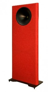 Emerald Physics CS2 Loudspeakers red
