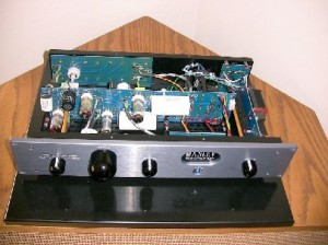 Manley Shrimp Preamplifier inside