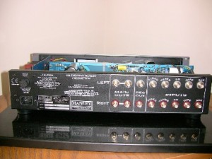 Manley Shrimp Preamplifier back