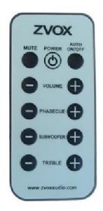 ZVOX 425 remote