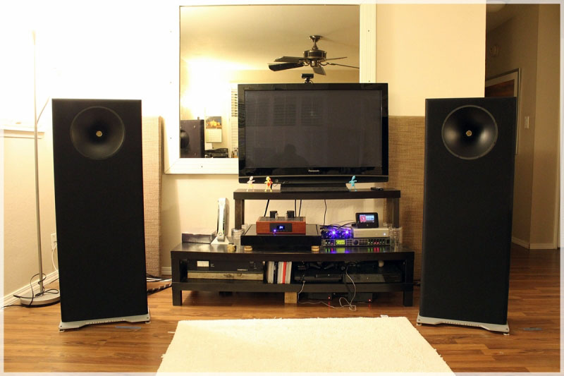 Emerald Physics CS2 speakers
