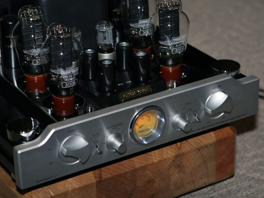 Audio Space Reference 3 1 Integrated Tube Amplifier   Hi-Fi Systems