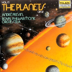 Gustov Holst'The Planets cover