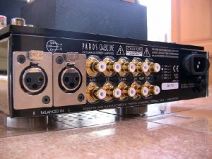 Pathos Acoustics Classic One MK III integrated Hybrid Amplifier back