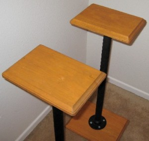 Diy Project Tnt Audio Stubby Speaker Stands Do It