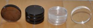 RIQ-5010 Pure Smoky Quartz Insulators, RIQ-5010W Pure Quartz Insulators2