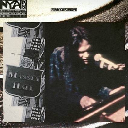 Neil Young—Live at Massey Hall 1971 cover