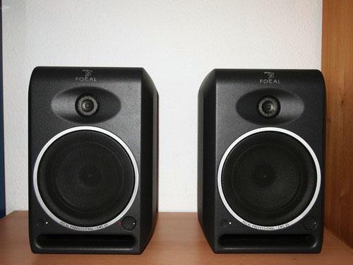 Focal CMS65 monitors