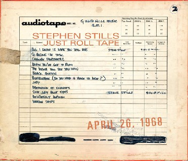 Stephen Stills—Just Roll Tape