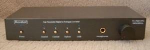 Beresford TC-7520 DAC/Preamp/Headamp front