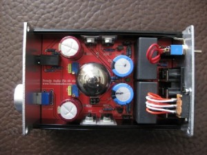 Trends Audio PA-10 Hybrid Tube Headphone Amplifier inside
