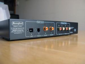 Beresford TC-7520 inputs outputs