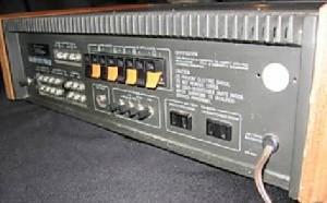 Kenwood KR-4600 AM/FM Receiver back