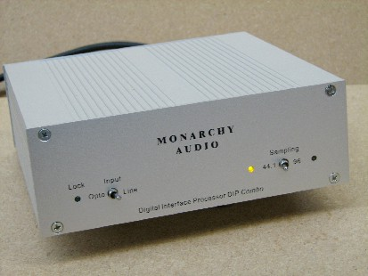Monarchy Audio's DIP/Upsampler Combo and the DR-1 Digital Interconnect