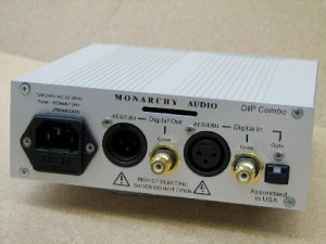 Monarch Audio's DIP/Upsampler Combo back