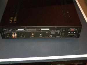 Emotiva ERC-1 back, inputs, outputs