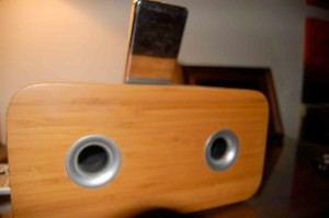 Vers 2X iPod Sound System back