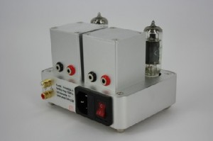 Miniwatt S-1 Integrated Amplifier back