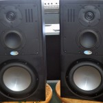 Blue Sky SAT 8 Compact Midfield Monitor, SUB 212 Subwoofer Monitoring System