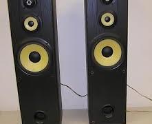 Sony ss-mf550h 3-way floorstanding speakers