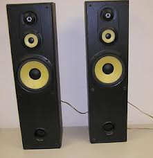 Sony ss-mf550h 3-way floorstanding speakers