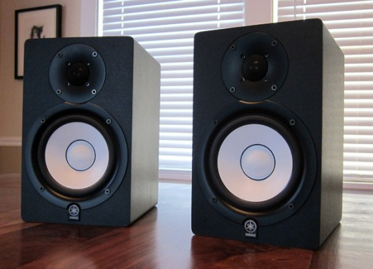Yamaha hs50m studio monitor