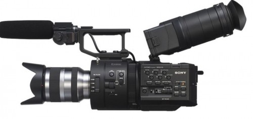 Sony NEX-FS7000 large-sensor cinema camera