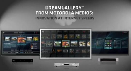 Motorola invents new TV user interface