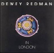 Dewey Redman in london cover