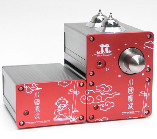 Little Country III Headphone Amplifier front