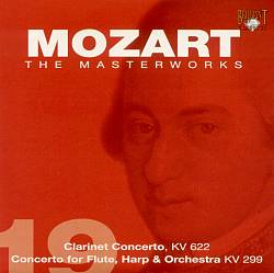 Mozart - Concerto in A major for Clarinet and Orchestra cover