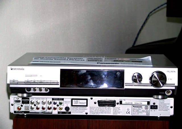 Panasonic DVD-S97 and SA-XR70