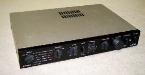 The Audiolab 8000A front