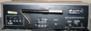 Sansui TU-7900 Tuner back