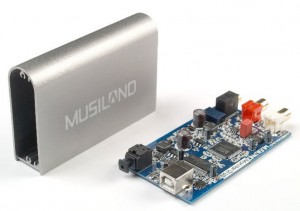Musiland Monitor 01 US USB DAC parts