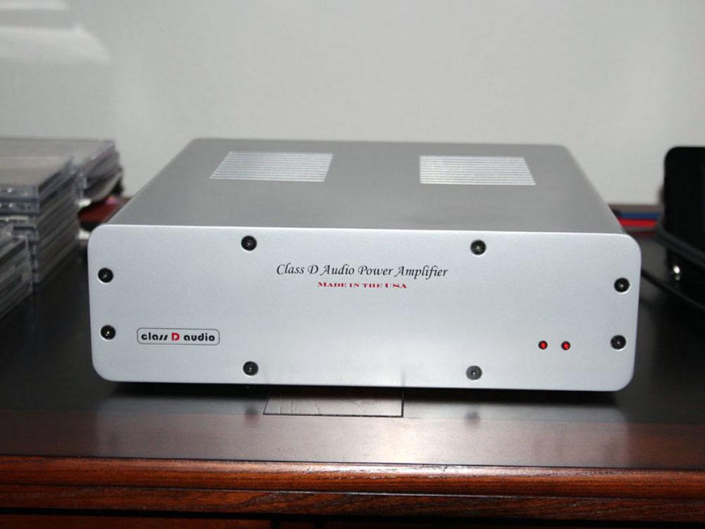 Class D SDS-440C amplifier silver