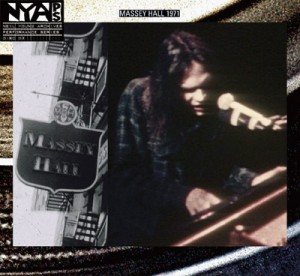 Neil Young - Live at Massey Hall 1971 cover