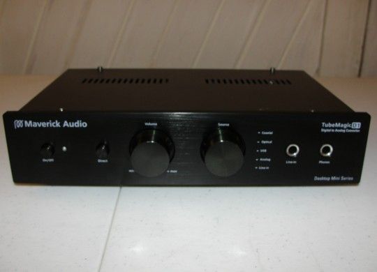 Maverick Audio TubeMagic D1 Digital to Analog Converter