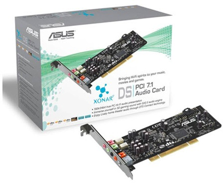 Asus Xonar DS 7.1 Sound Card