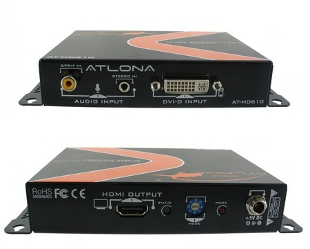 Atlona-AT-HD610-DVI-with-Analog-Digital-Audio-to-HDMI-Converter-and-Embedder