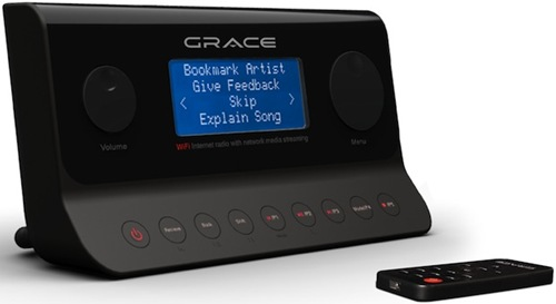 Grace Digital Audio Solo Wi-Fi Internet Tuner