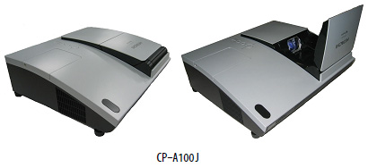 Hitachi cp a100j projector projector for Mirror projector review