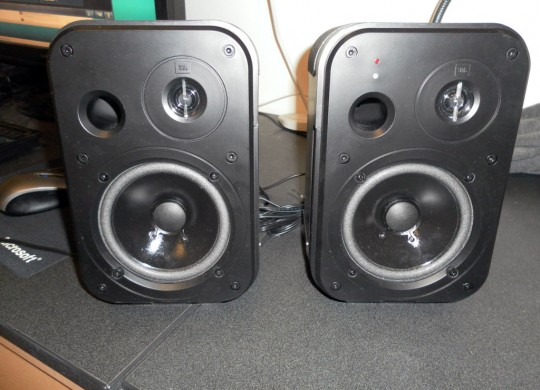 JBL Control 2P Powered Desktop Monitors