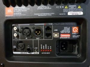 JBL LSR4328P inputs