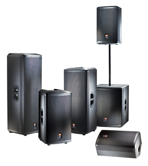 JBL PRX500 Series Portable PA Loudspeakers