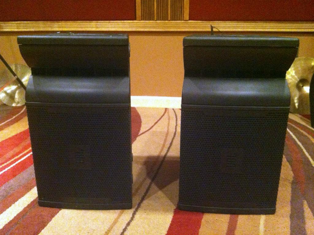 JBL VRX932LA speakers